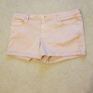 Mossimo pink shorts